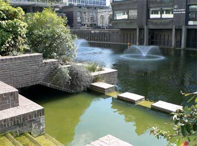 Barbican Estate Lakeside Gardens and Terrace