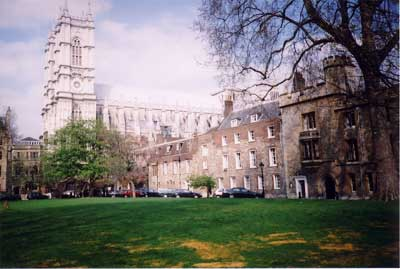 Westminster Abbey - Dean's Yard