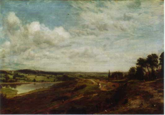 Hampstead Heath by John Constable