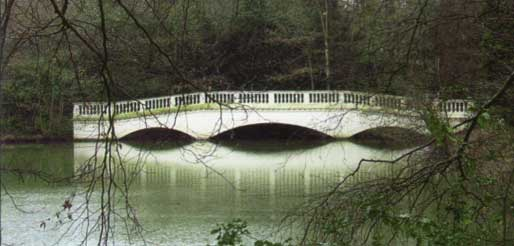 The sham bridge at Kenwood