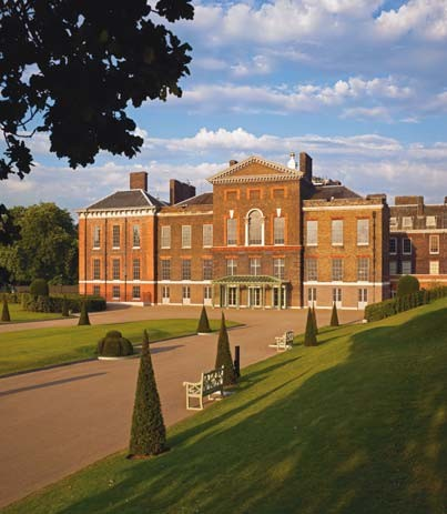 The new Palace Lawn, Kensington Palace
