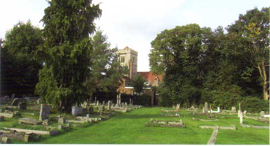 St Martin's Church and churchyard, Ruislip