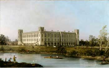Syon House, Canaletto (1749)