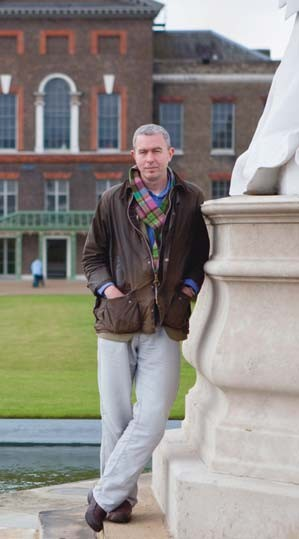 Todd Longstaffe-Gowan at Kensington Palace
