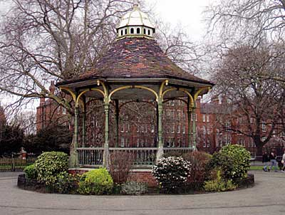 Bandstand in Myatt's Fields
