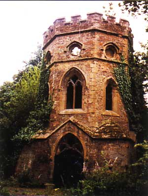 The Gothic Boathouse in Gunnersbury Park