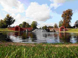 The Lower Pool and Cascade in Bushy Park's newly-restored Water Gardens (Hazelle Jackson)
