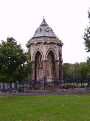 The Burdett Coutts Memorial in Victoria Park