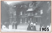 Valentines Mansion in 1905