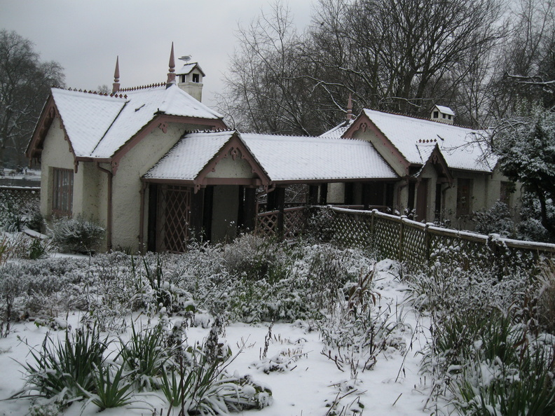 Duck Island Cottage - Snow