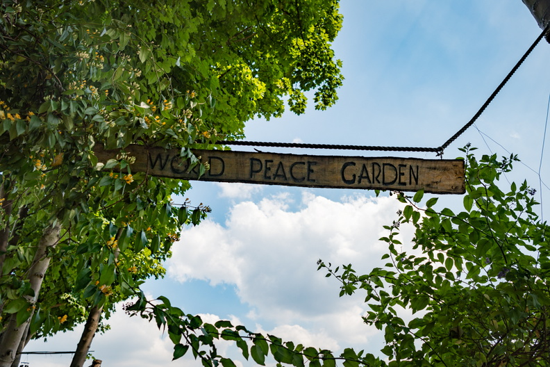 World Peace Garden, Camden