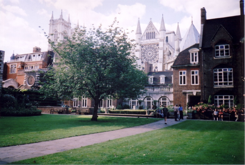 Westminster Abbey - College Garden