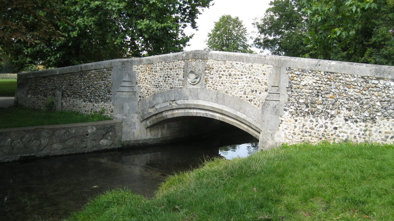 Beddington Park - a bridge over the Wandle