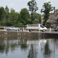 Carshalton Ponds - West Pond and North Street causeway