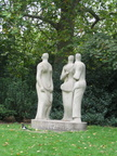 Battersea Park - 'Three Standing Figures' by Henry Moore
