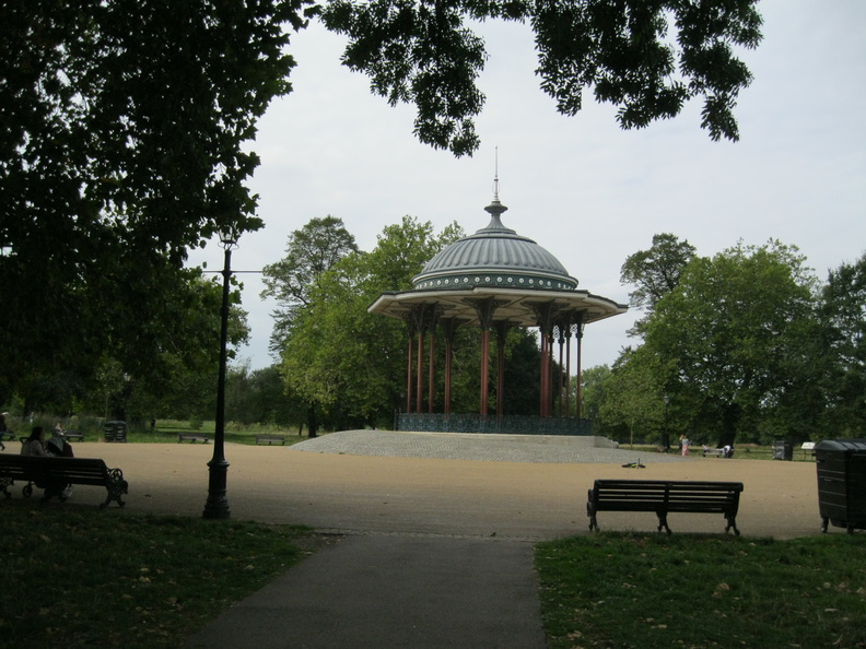 Clapham Common - Bandstand