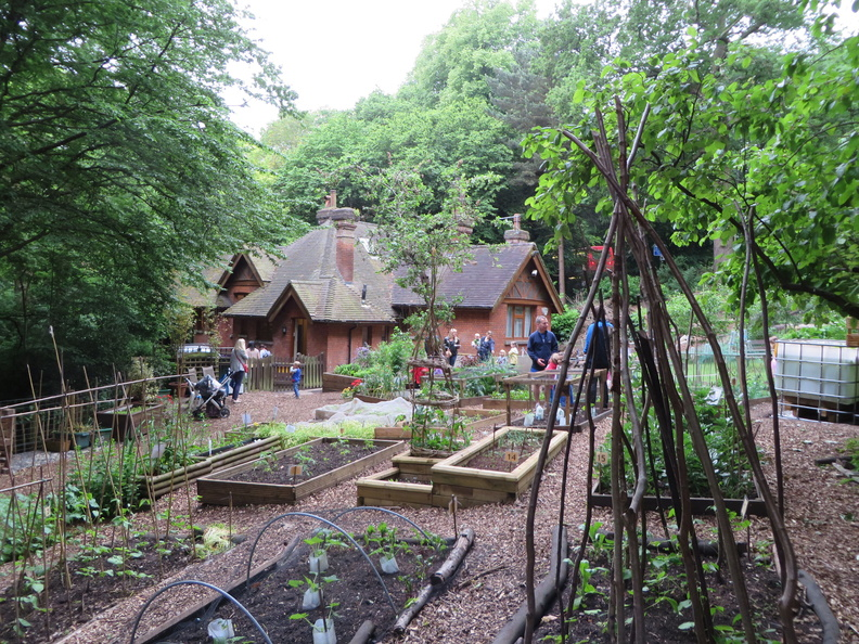 Queen's Wood Lodge Organic Garden