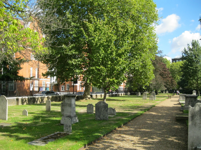 Royal Hospital, Chelsea - Old Burial Ground