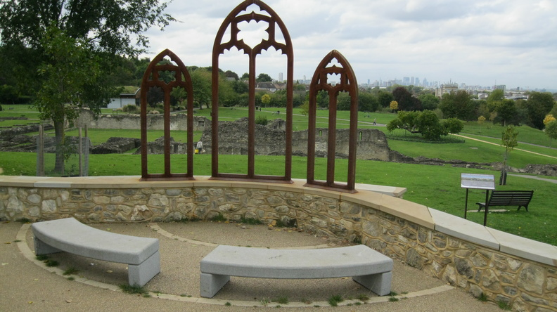 Lesnes Abbey - Viewpoint
