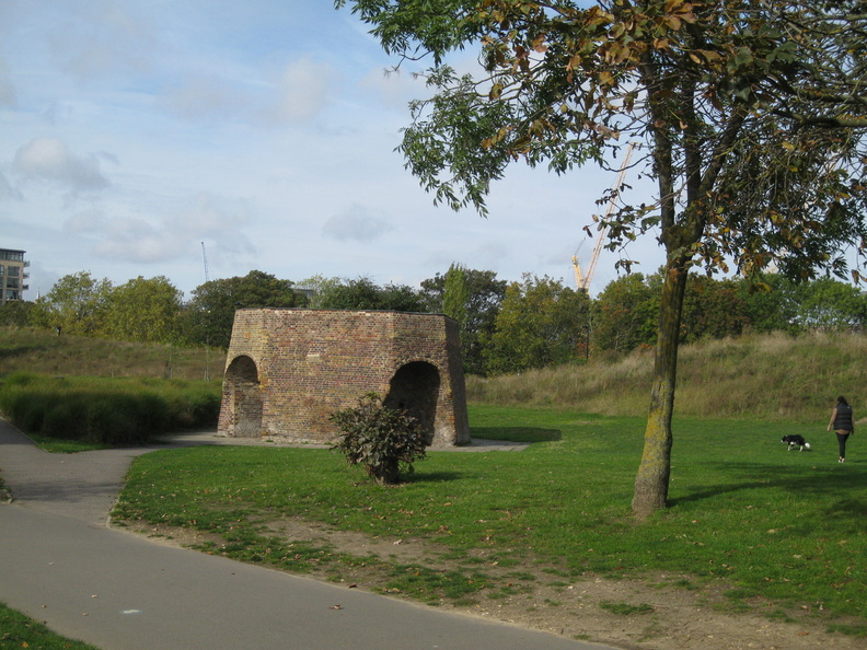 Burgess Park - lime kiln