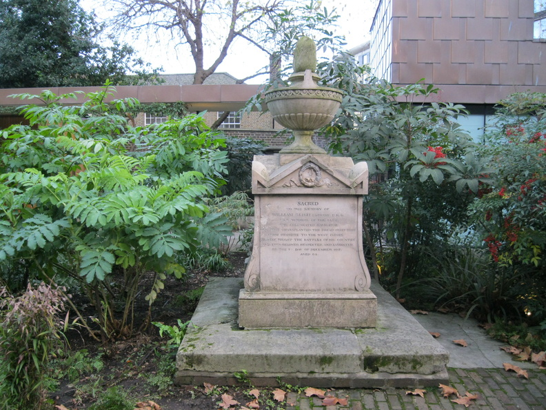 The Garden Museum - Monument to Admiral William Bligh