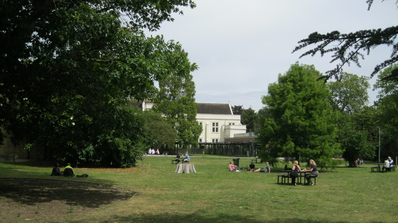 Dulwich Picture Gallery garden