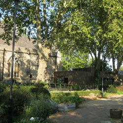 St Mary-at-Lambeth Churchyard and The Garden Museum