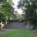Crystal Palace Park - sphinxes and steps