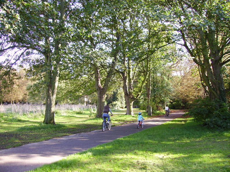 Nonsuch Park - Cyclists
