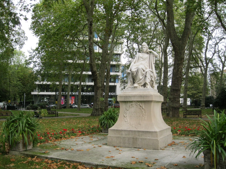 Paddington Green - statue of Sarah Siddons