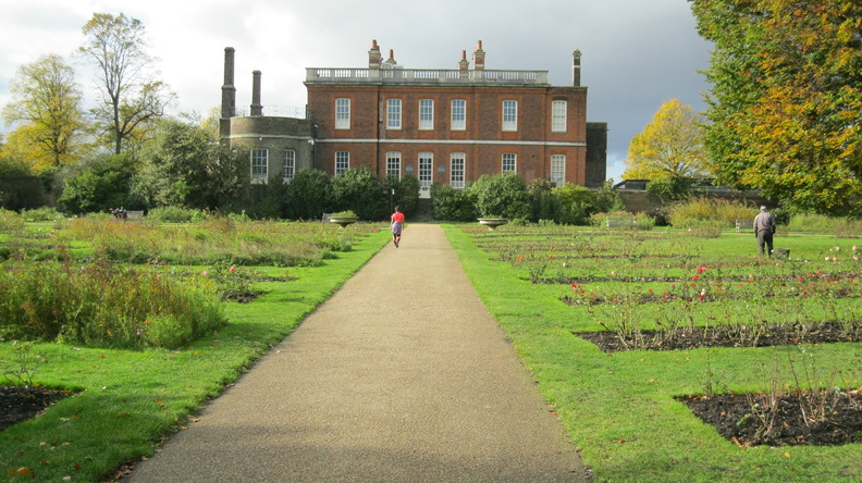 Greenwich Park - Rose Garden and Ranger's House