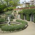 Terrace Gardens - sculpture of Aphrodite in Portland stone by Allan Howes
