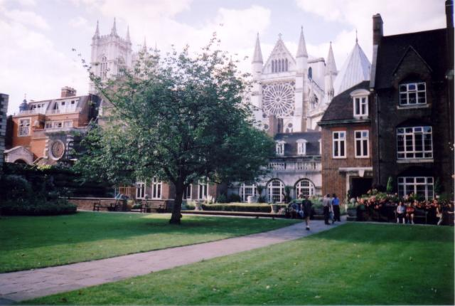Westminster Abbey Precincts - The College Garden