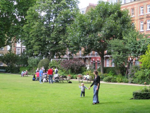 Nevern Square Garden