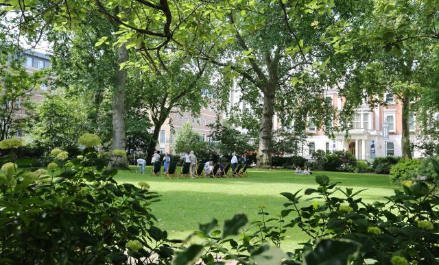 Manchester Square Gardens *