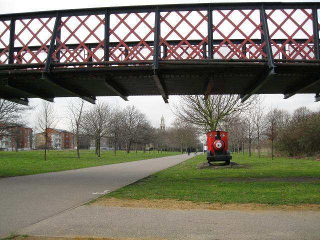 Burgess Park, including Chumleigh Gardens