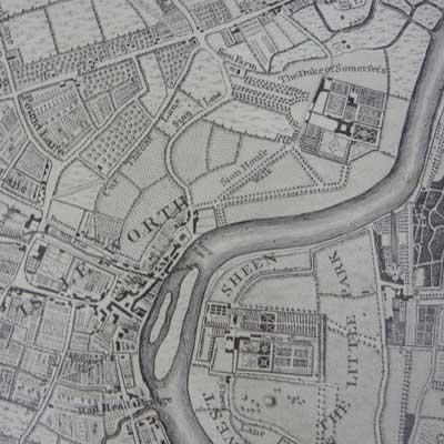 John Rocque 1746 detail